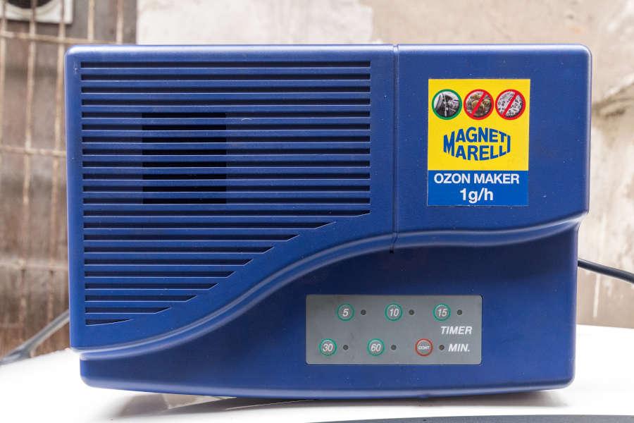 trattamento igienizzazione ozono